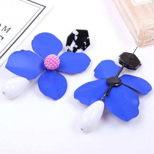 Fashion creative floral earrings