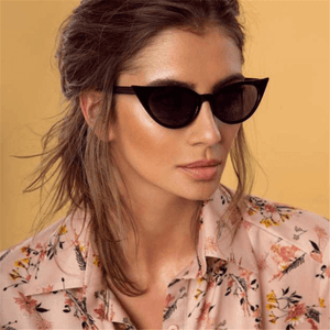 Fashion Joker Elliptical Retro Cat Eye Sunglasses