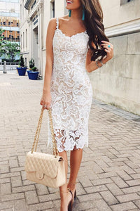 Sexy Lace Sling Bodycon Dresses