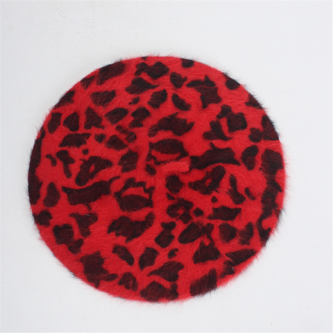 Fashion Rabbit Leopard Beret