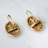 14k Art Nouveau Earrings
