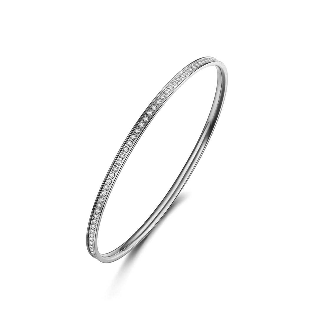 ANNEBRAUNER Bangle thin White