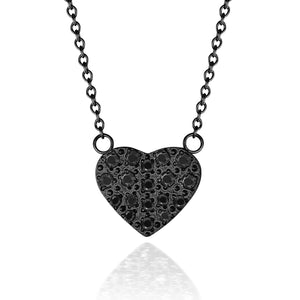 ANNEBRAUNER Heart Black