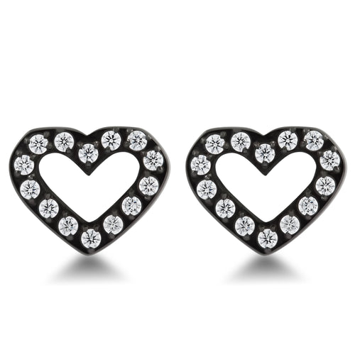 ANNEBRAUNER Heart Open Black/White