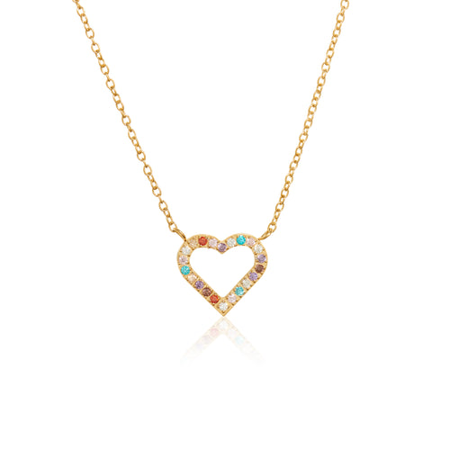 ANNEBRAUNER Heart Gold/Multicolor