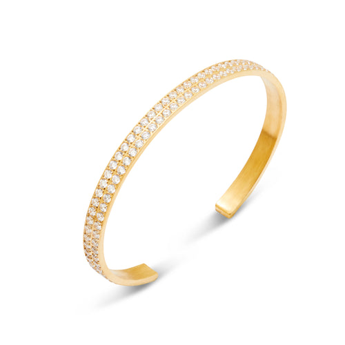 ANNEBRAUNER Bangle Open Gold