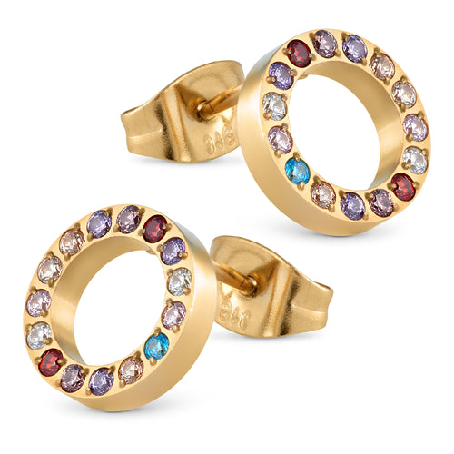 ANNEBRAUNER Circle Stones Multicolor