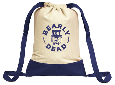 BD Canvas Drawstring Backpack