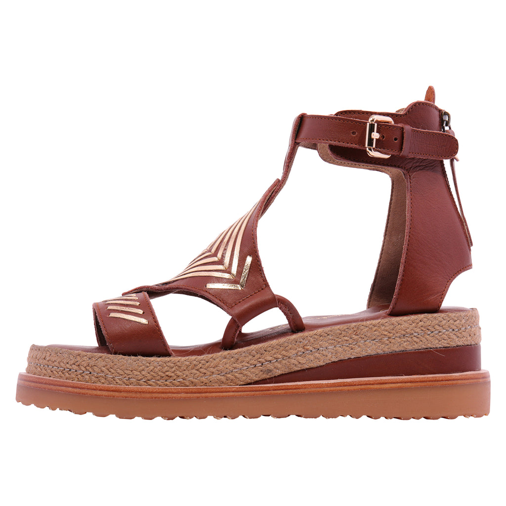 Diamond Gladiator Platform - Tan