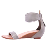 Farah Classic Wedge Sandal - Ice Grey
