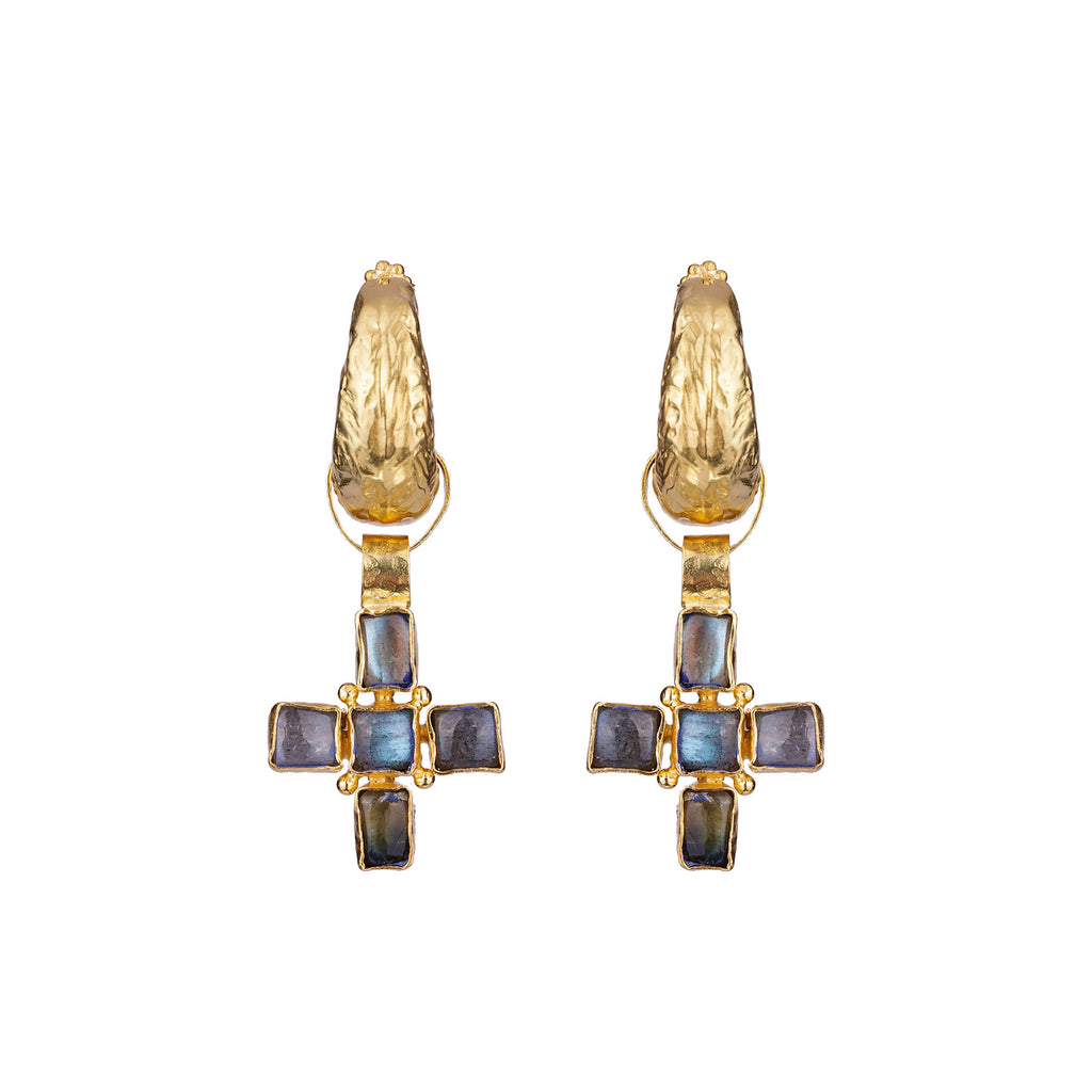 Livia Earrings Gold