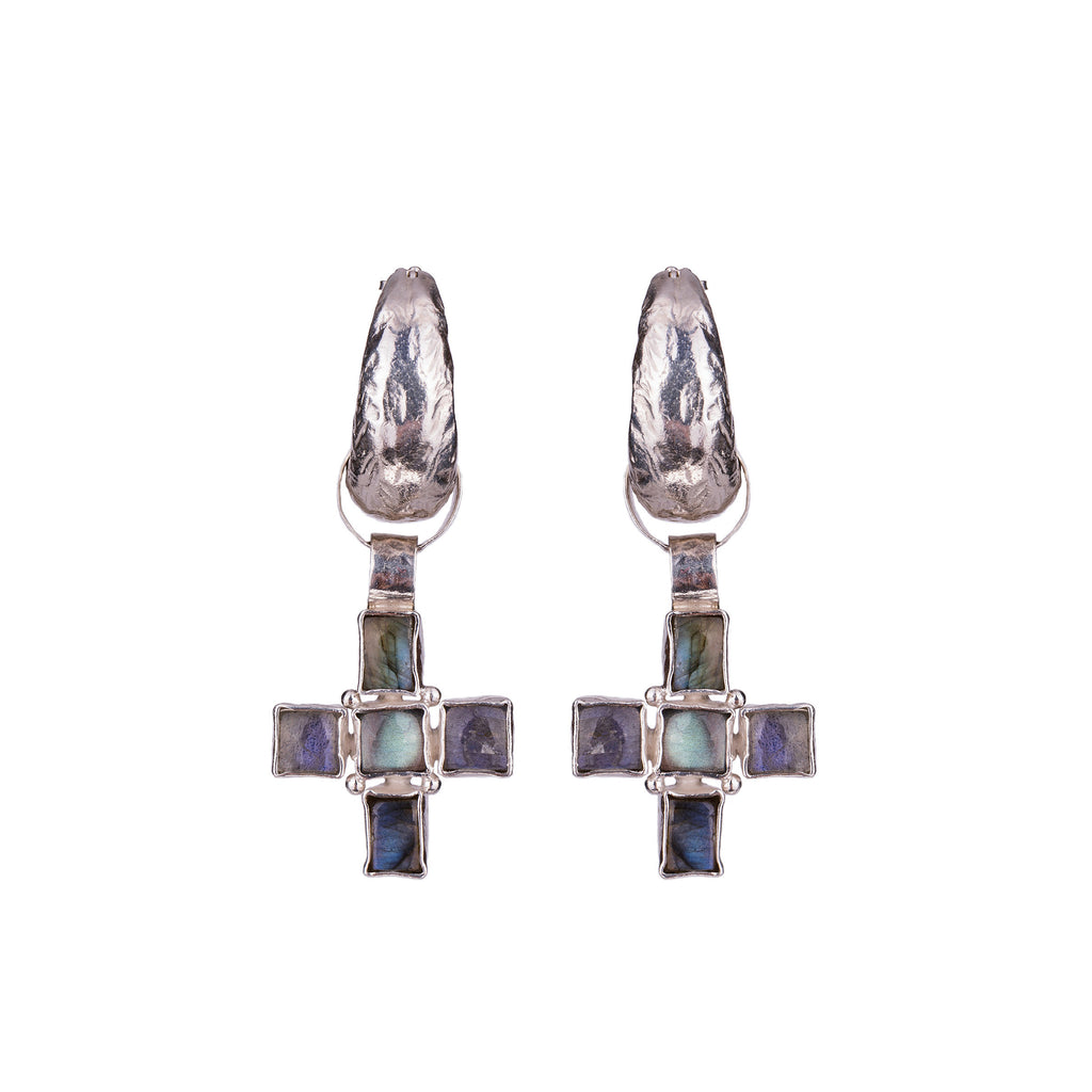 Livia Earrings Silver