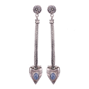 Dynasty Earrings Silver