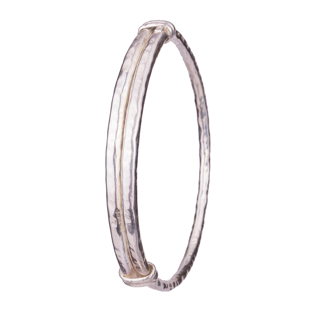 Flavia Upper Arm Bangle Silver