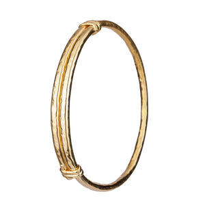 Flavia Upper Arm Bangle Gold
