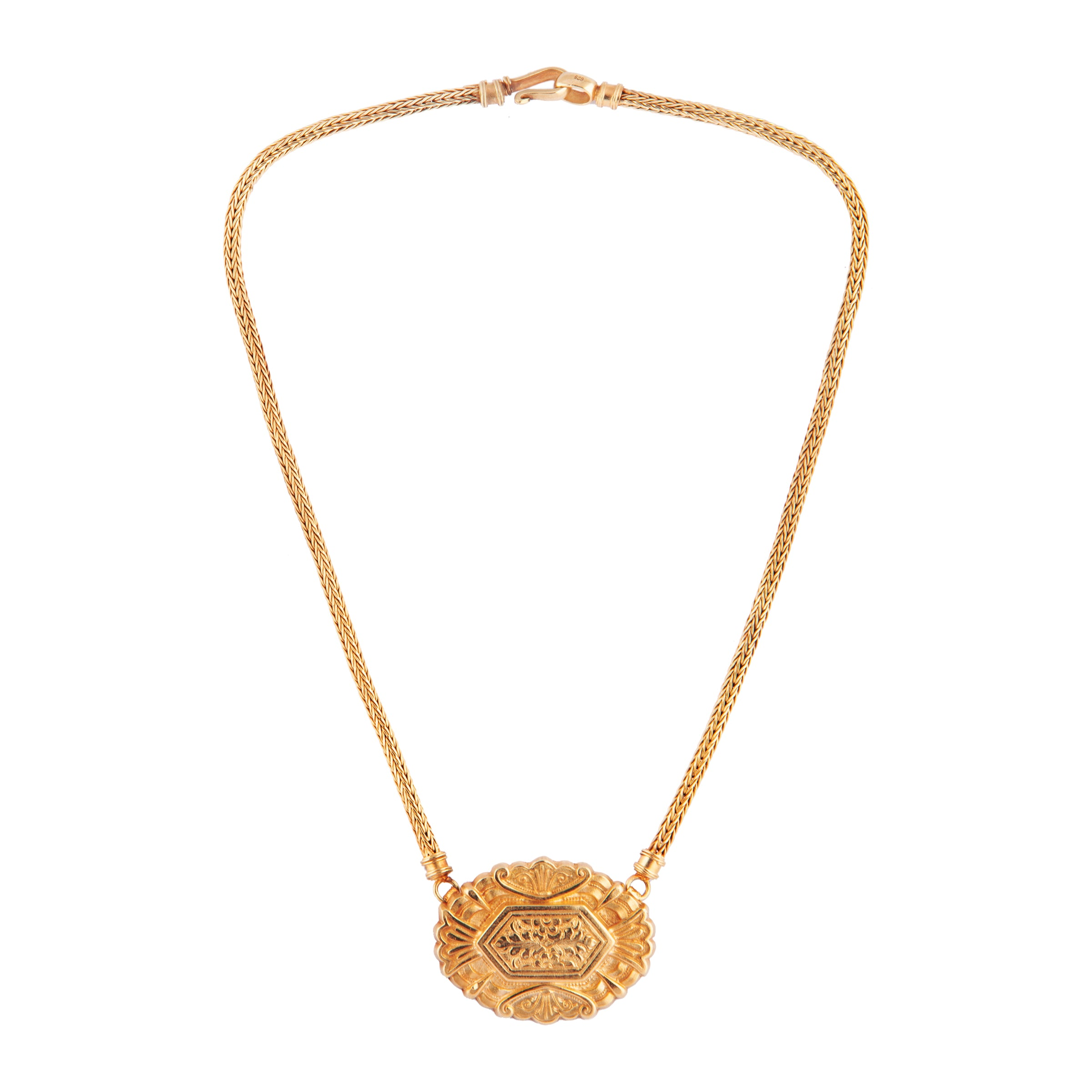 Claudia Necklace Gold