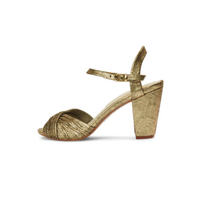 Scarlet Heel - Distressed Gold