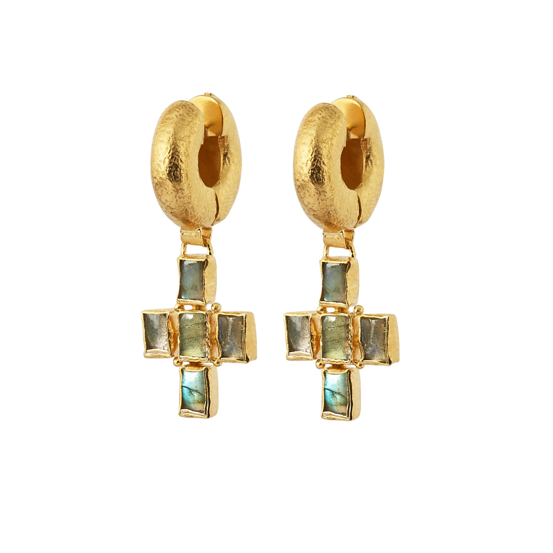 Livia Tube Earrings - Gold