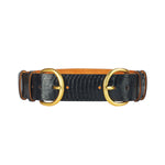 Wide Double Buckle Belt - Black