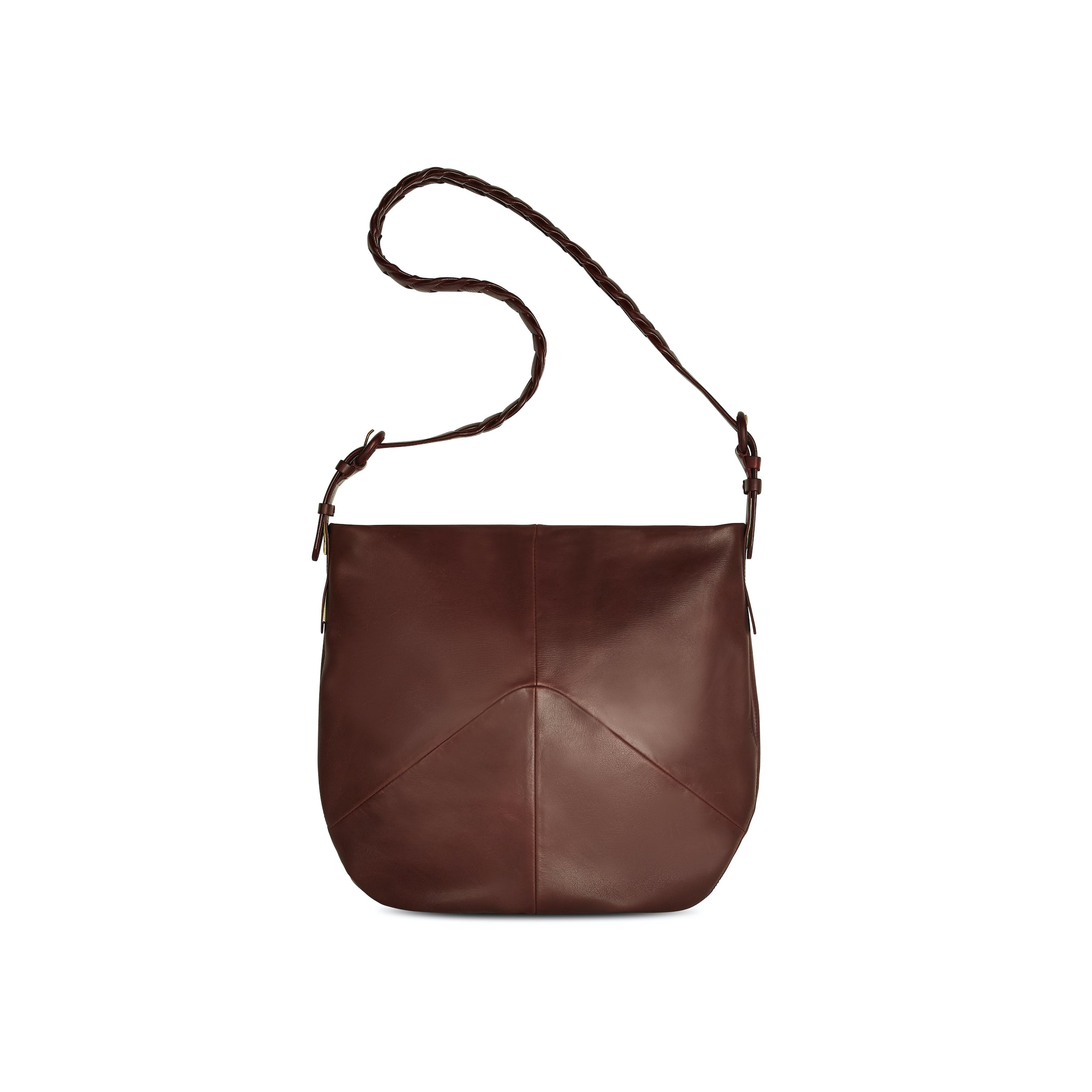 Large Link Bag - Burgundy- (big)