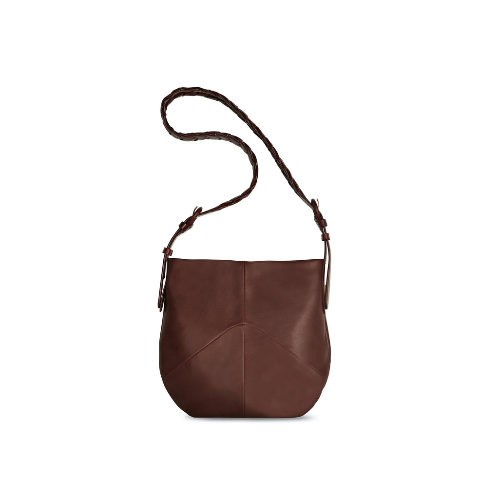 Small Link Bag - Burgundy