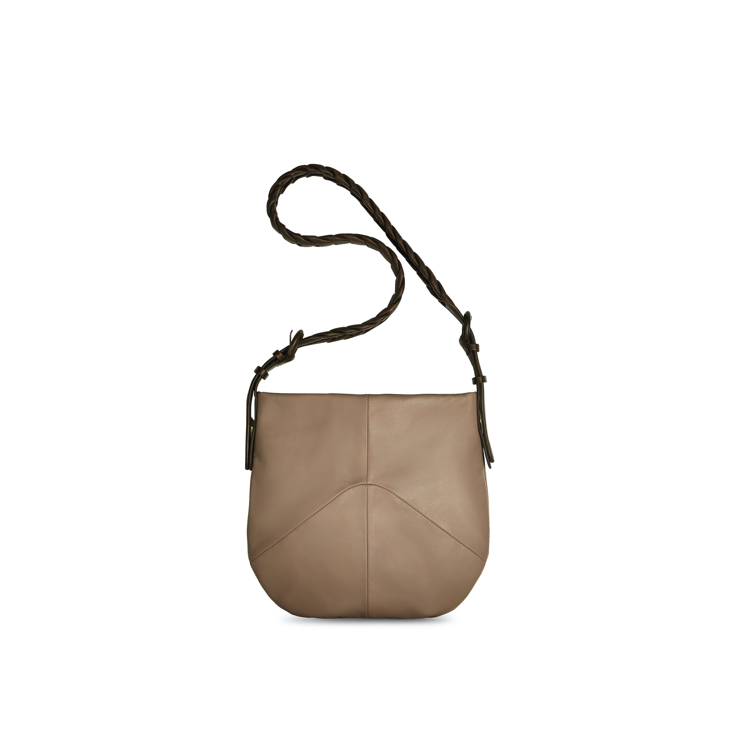 Large Link Bag - Taupe- (Small)