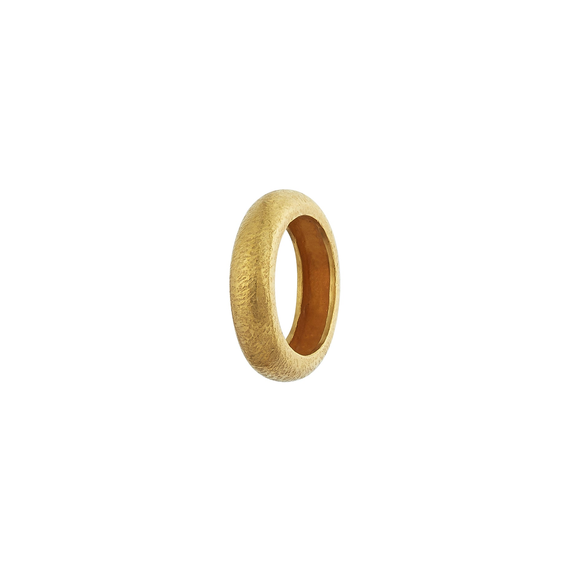 Tube Stacking Rings - Gold