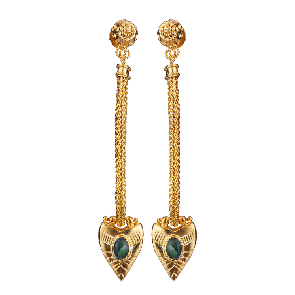 Dynasty Earrings Gold