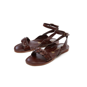 Gigi Sandal - Dark Tan