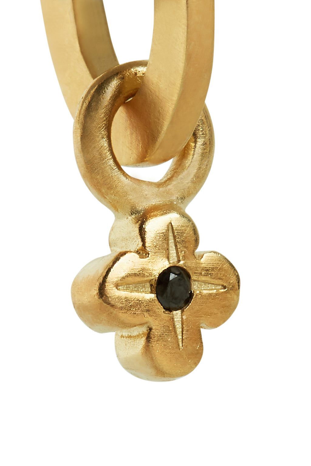 Ilaria Flower Earring - Gold