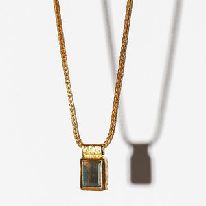 Mini Labarodite Single Pendant Gold
