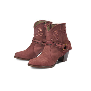 Fields Of Joy Boot - Burgundy