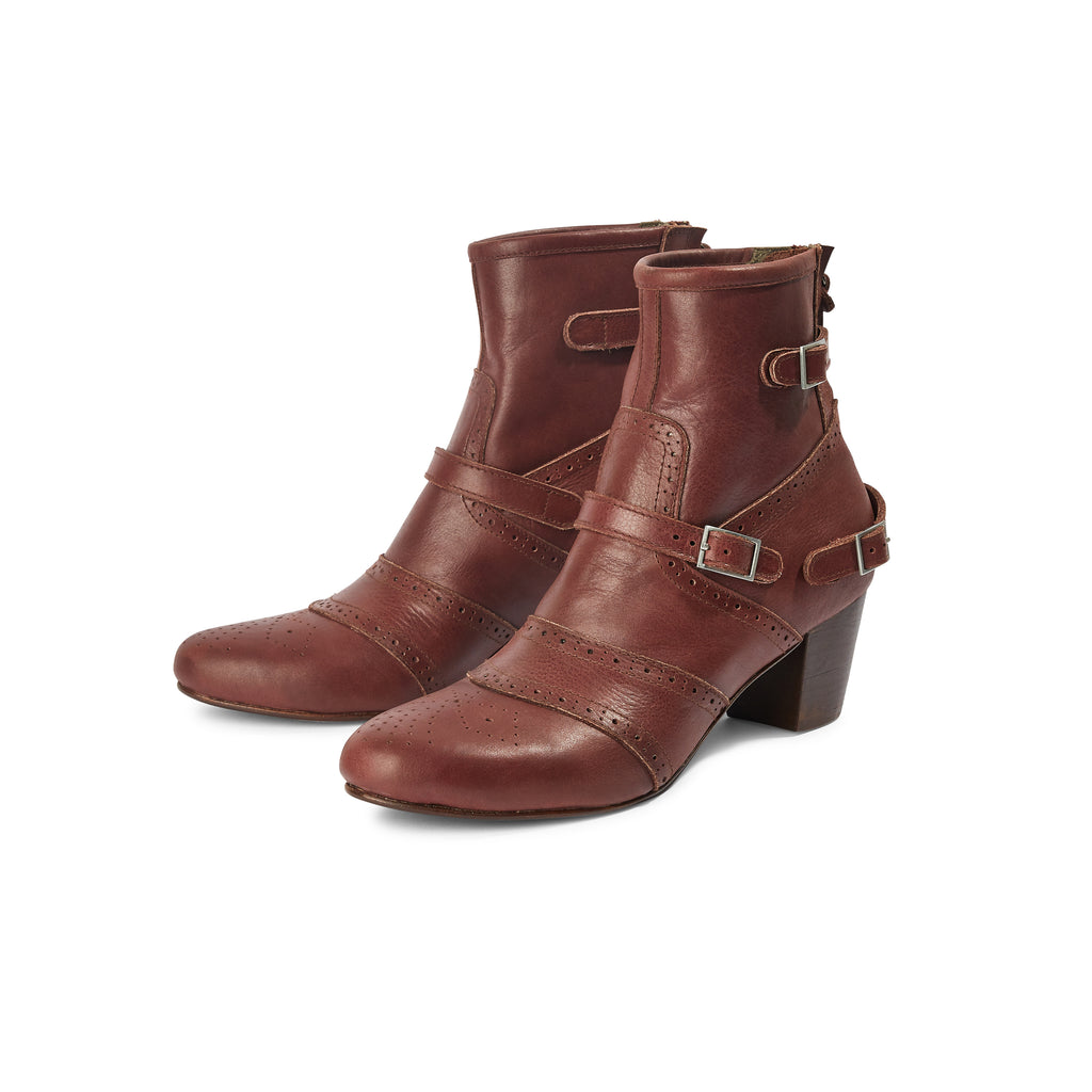 Time To Fly Boot - Burgundy