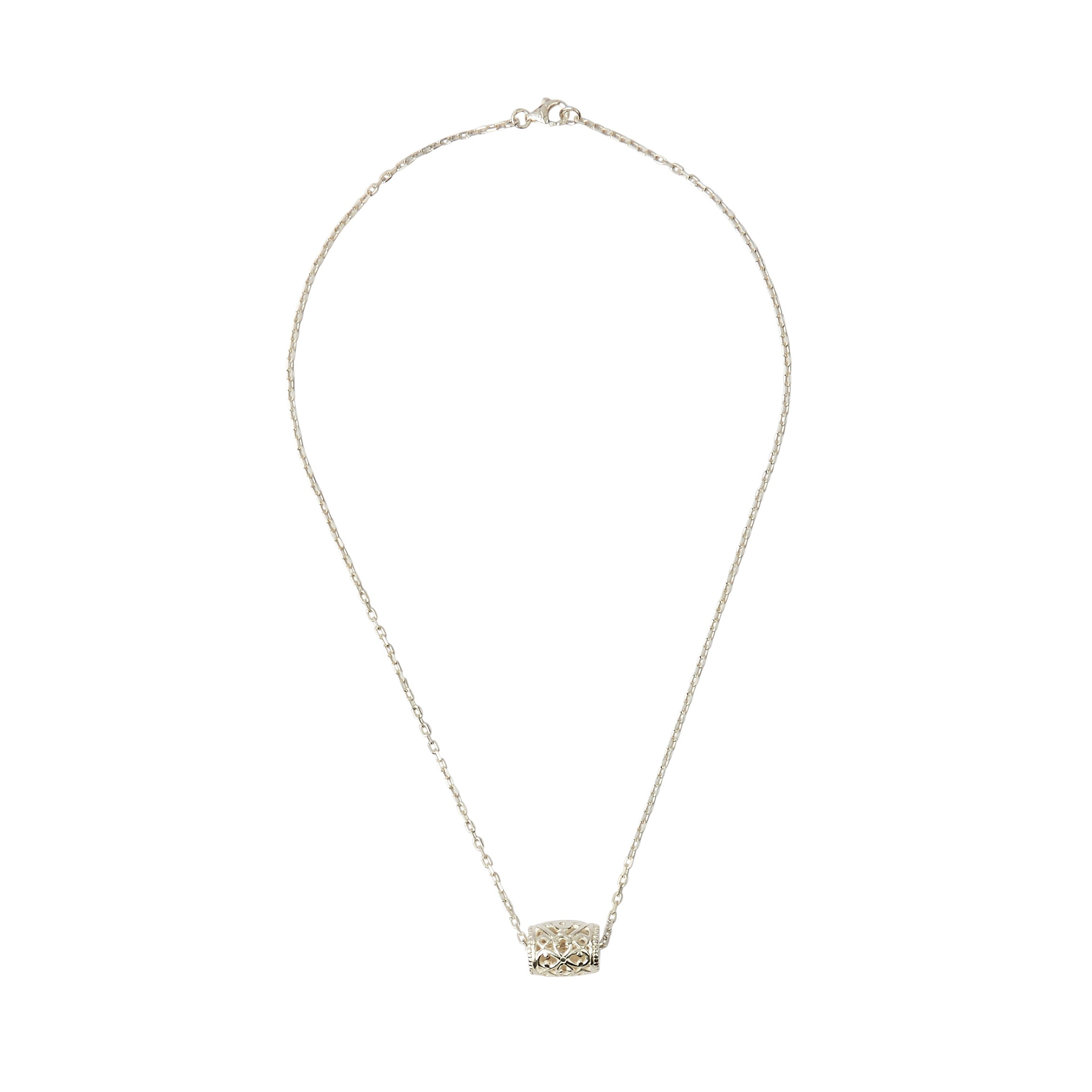 Anastasia Necklace Silver
