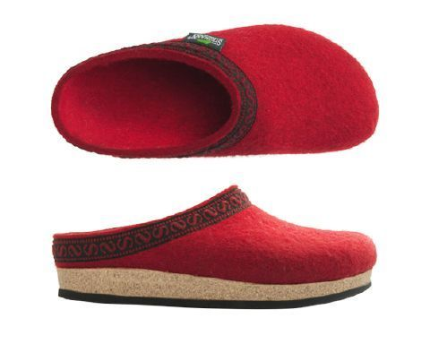 Stegmann House Clogs Dark Cherry
