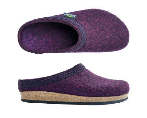 Stegmann House Clogs Dark magenta