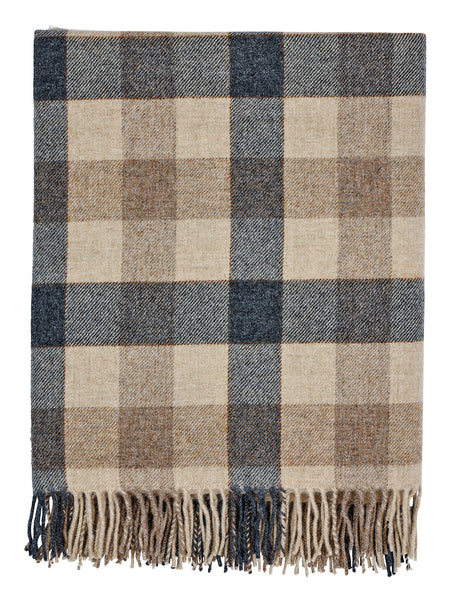 Pure Wool Throw (Liquorice)