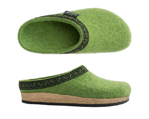 Stegmann House Clogs Lime Green