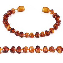 Load image into Gallery viewer, Amber Teeth Anklet / Bracelet