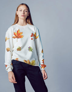 Fall Leaves Sweatshirt for Women - Milvertons