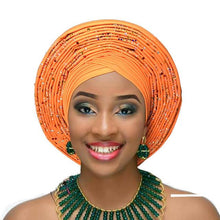 Load image into Gallery viewer, Lovely Turban style Hat with a unique twist