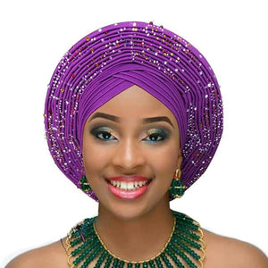 Lovely Turban style Hat with a unique twist