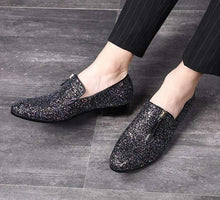 Load image into Gallery viewer, Men's glittered loafers - Milvertons