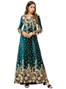 Mesmerizing Traditional Heavily Embroidered Velvet Women's Clothing