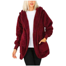 Load image into Gallery viewer, Plush Hooded Winter Jacket for Women - Milvertons