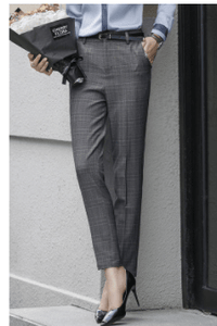 Professional Business Pleated Pants for Women