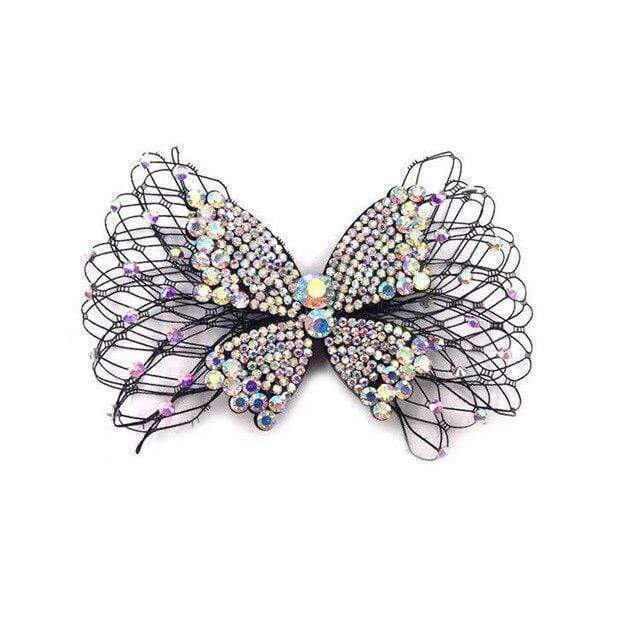 Superbly Stylish Fashion Mesh Crystal Decorated Accessory