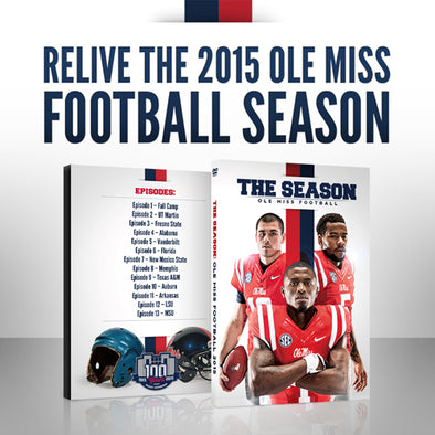 The Season: Ole Miss Football 2015 Blu-Ray DVD