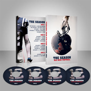 The Season: Ole Miss Football 2012 (4-Disc Set)