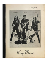 Load image into Gallery viewer, Roxy Music Songbook